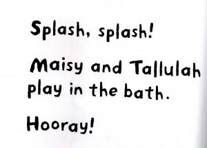 Maisy text